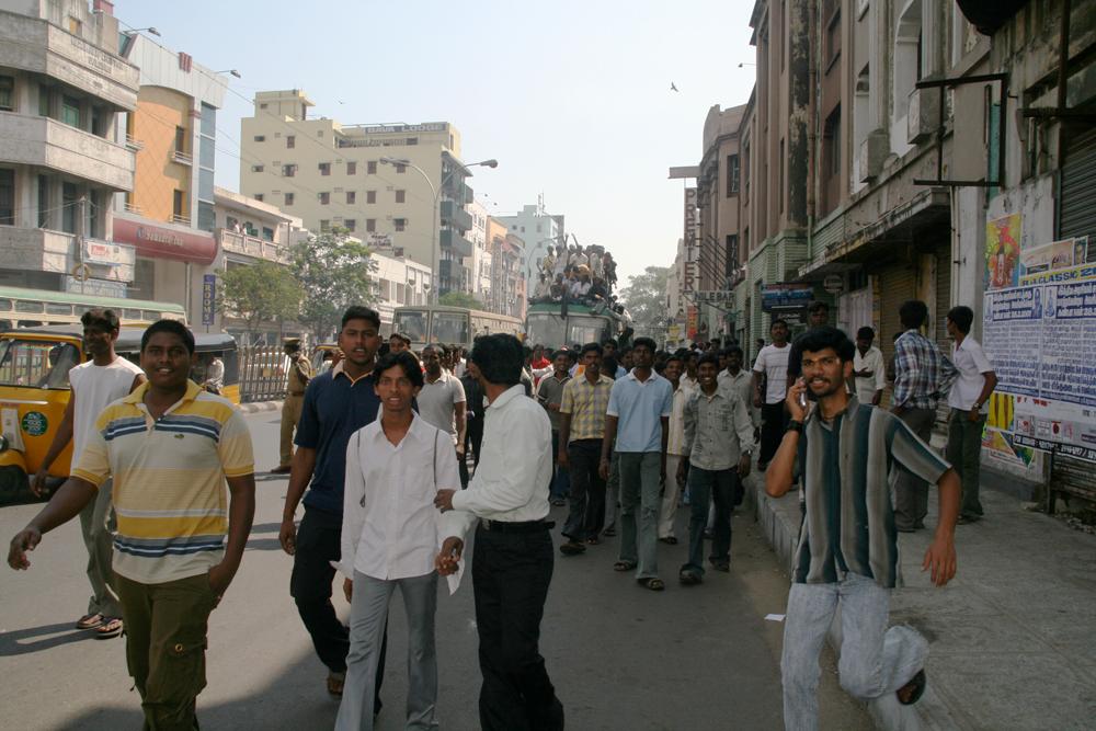 Ajetreo-en-Chennai