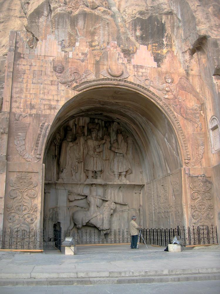 Arco-del-rey-sasánida-Cosroes-II