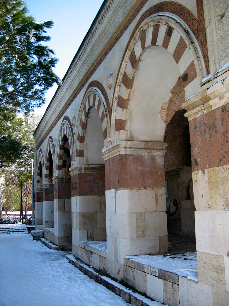 Arcos-en-Sultán-Beyazit-II-Cami