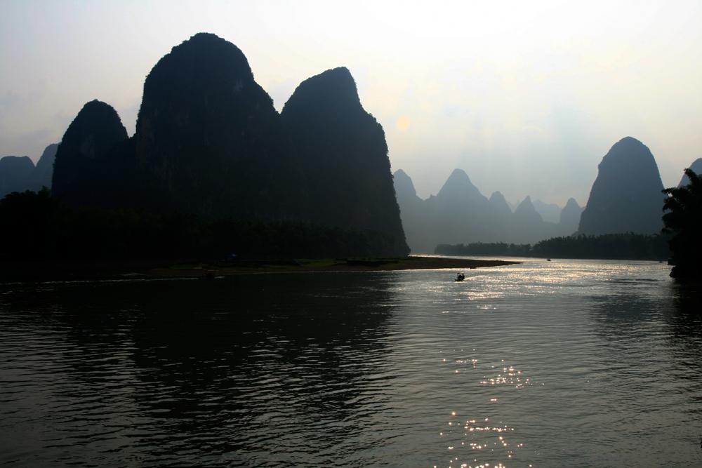 Atardece-en-el-río-Li-Xingping-II