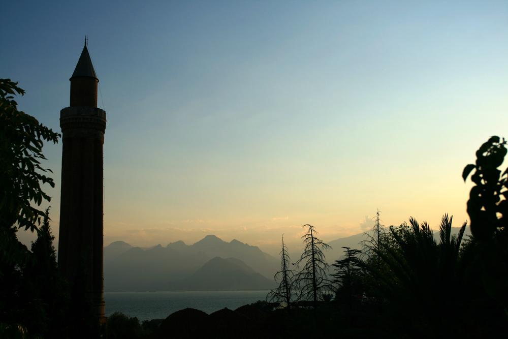 Atardecer-en-Antalya