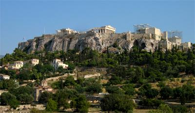 Vista de la Acrópolis