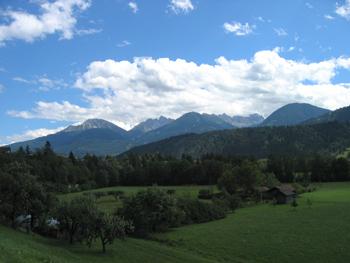 Paisaje del Tirol