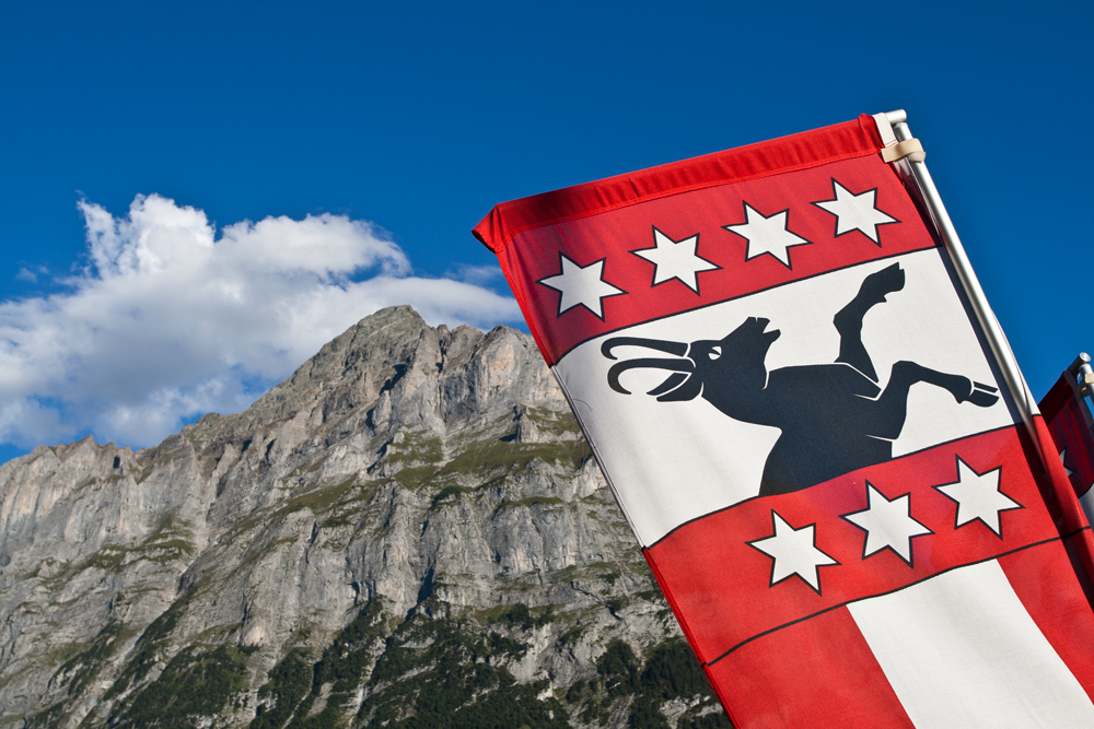 Bandera-en-Grindelwald