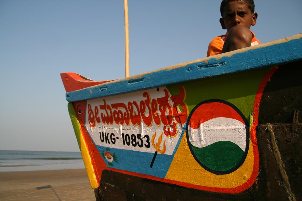 Barca-colorida