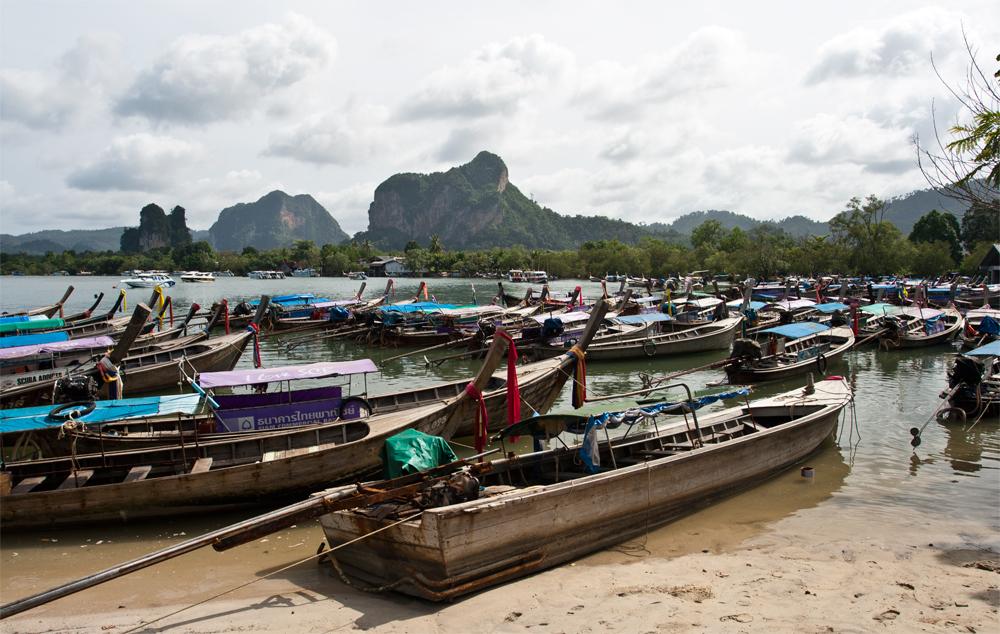 Barcas-en-Krabi
