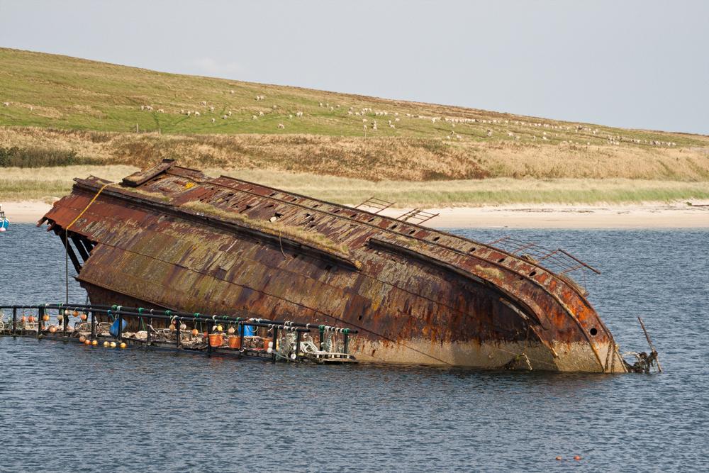 Barco-hundido