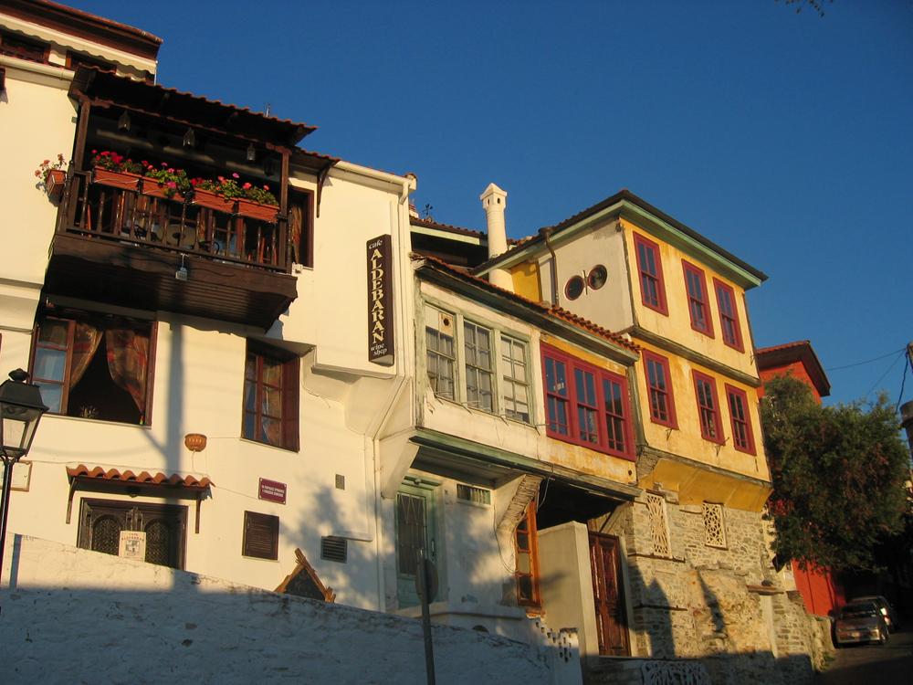 Barrio turco de Kavala