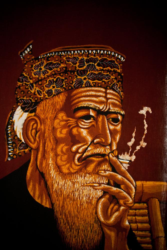 Batik-de-anciano