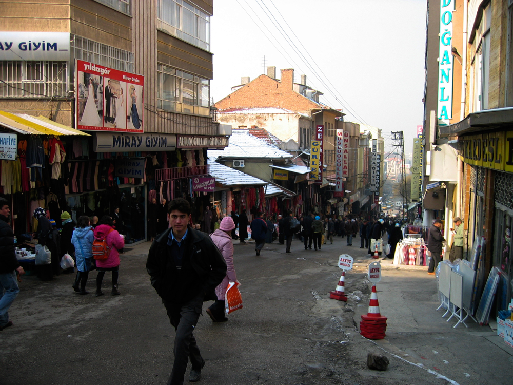 Bazares-en-Ankara