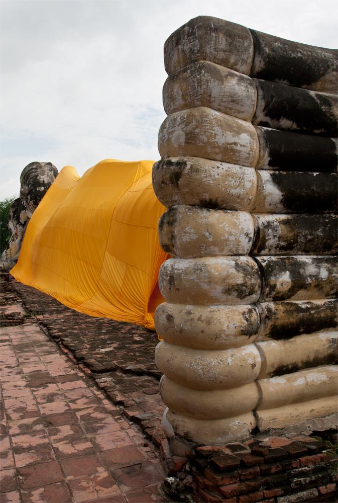 Buda-descansando-en-Ayutaya