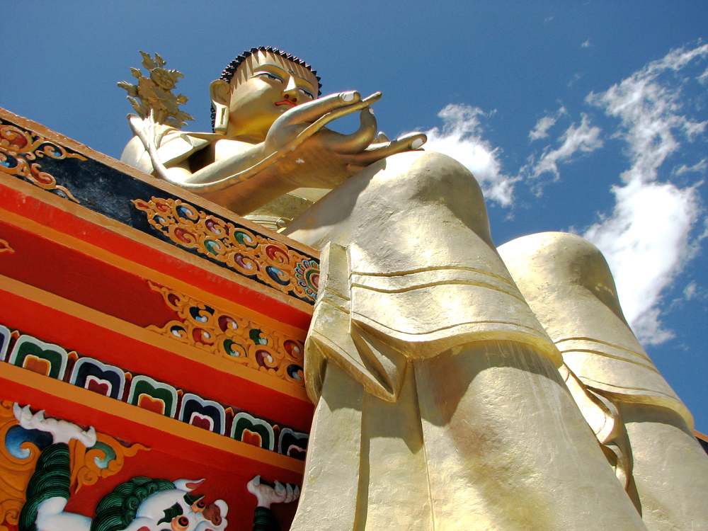Buda-gigante-en-Likir