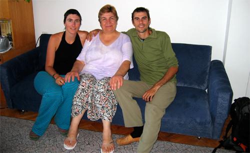 Con nuestra querida Elena