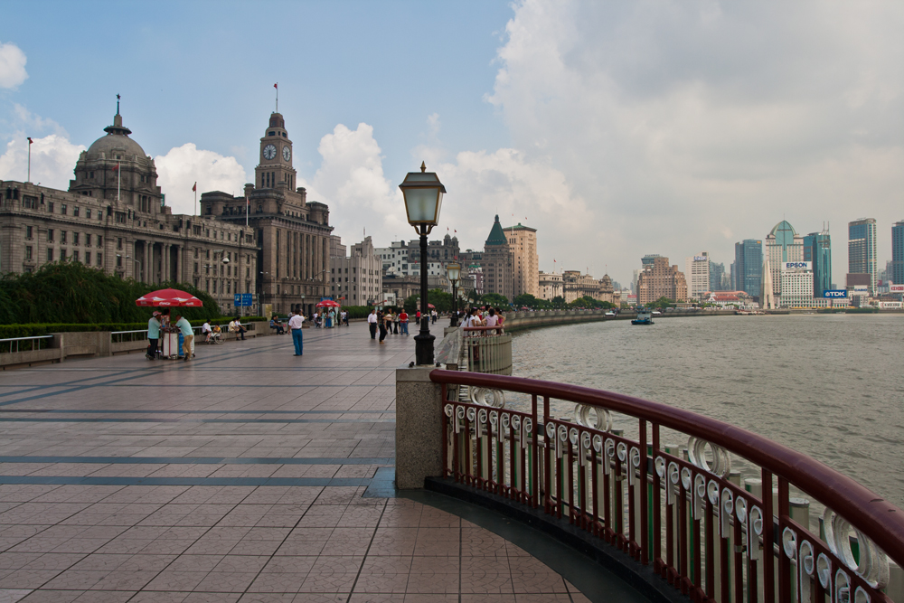Bund-y-río-Pudong