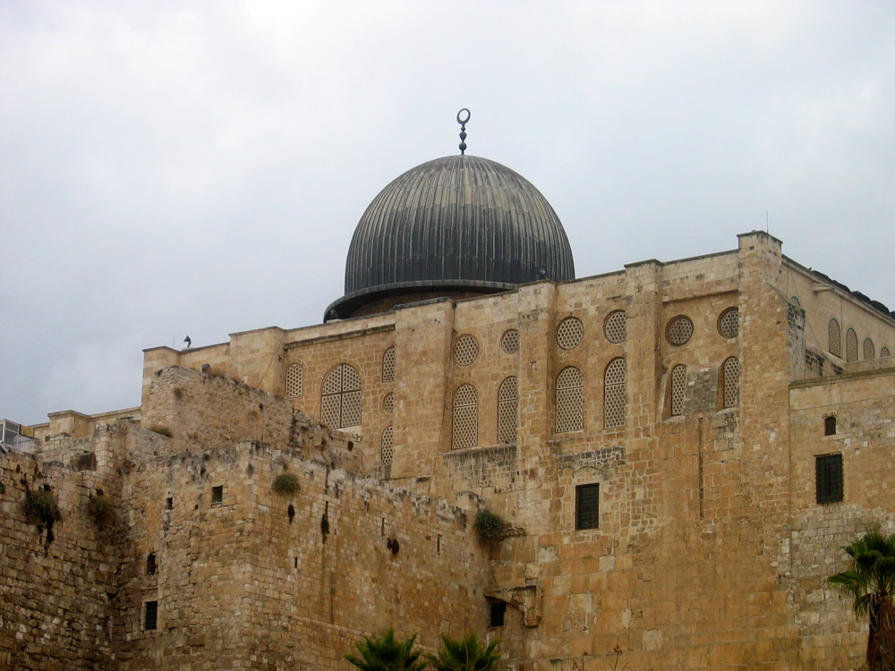 Cúpula-de-la-mezquita-de-Al-Aqsa