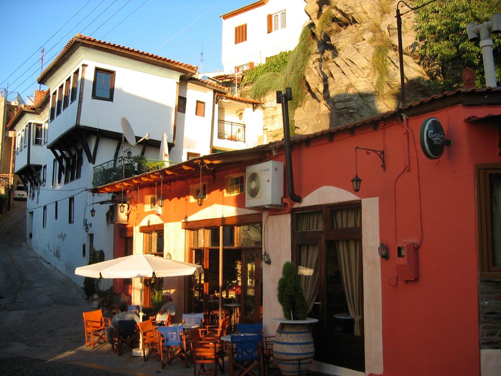 Café-en-el-Barrio-turco-de-Kavala