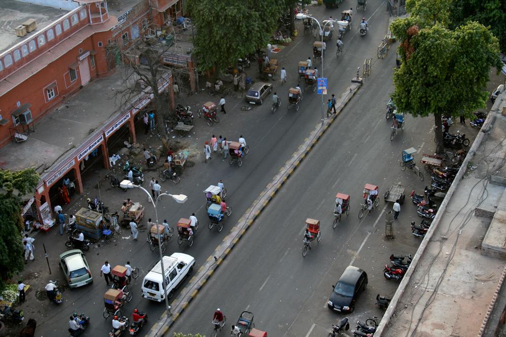 Calle-de-Jaipur