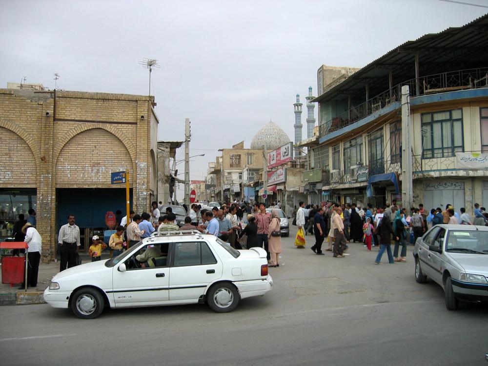 Calle-en-Bandar-e-Abbas