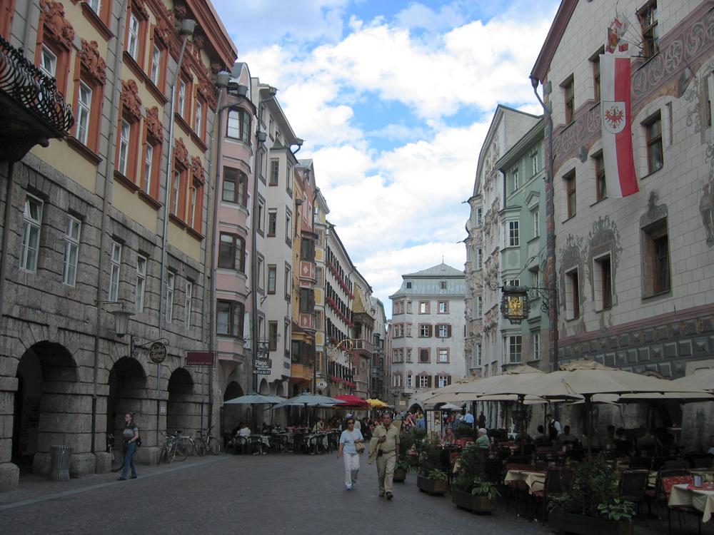 Calle-en-Salzburgo