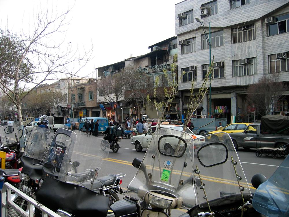 Calles-de-Teheran