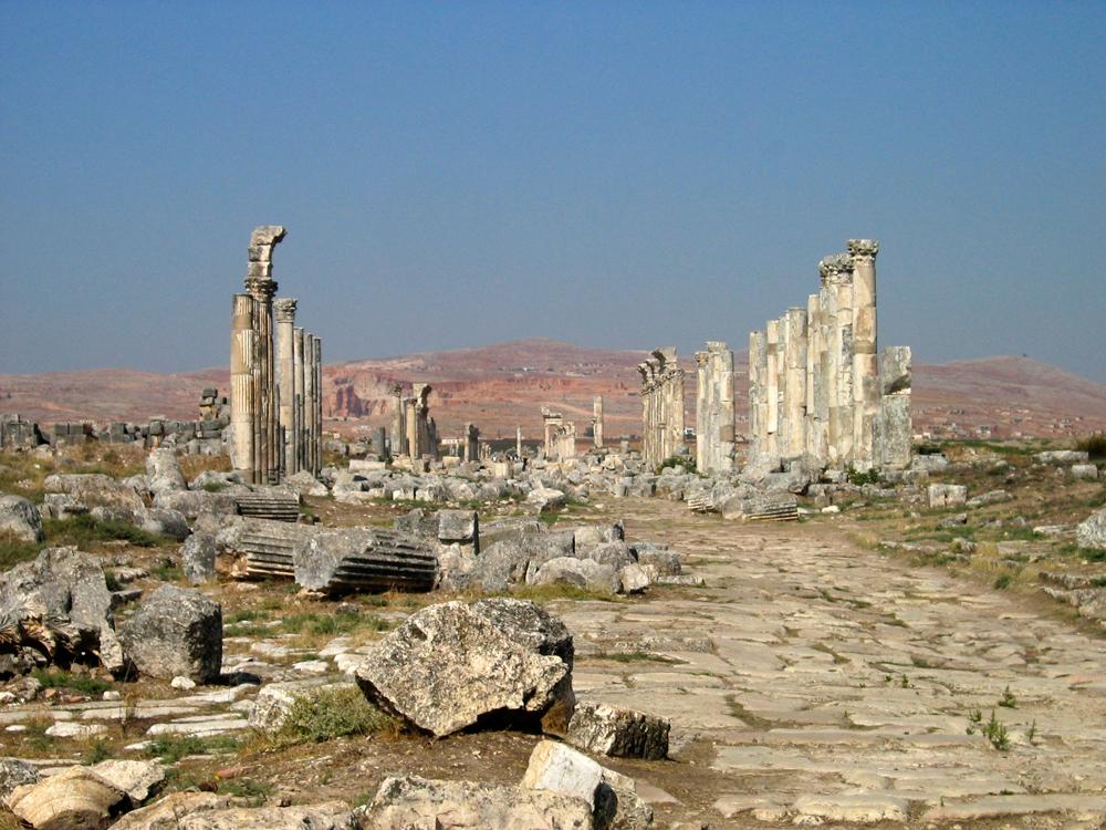 Calzada-romana-de-Apamea