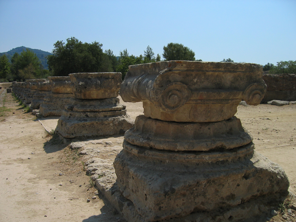 Capiteles-jónicos