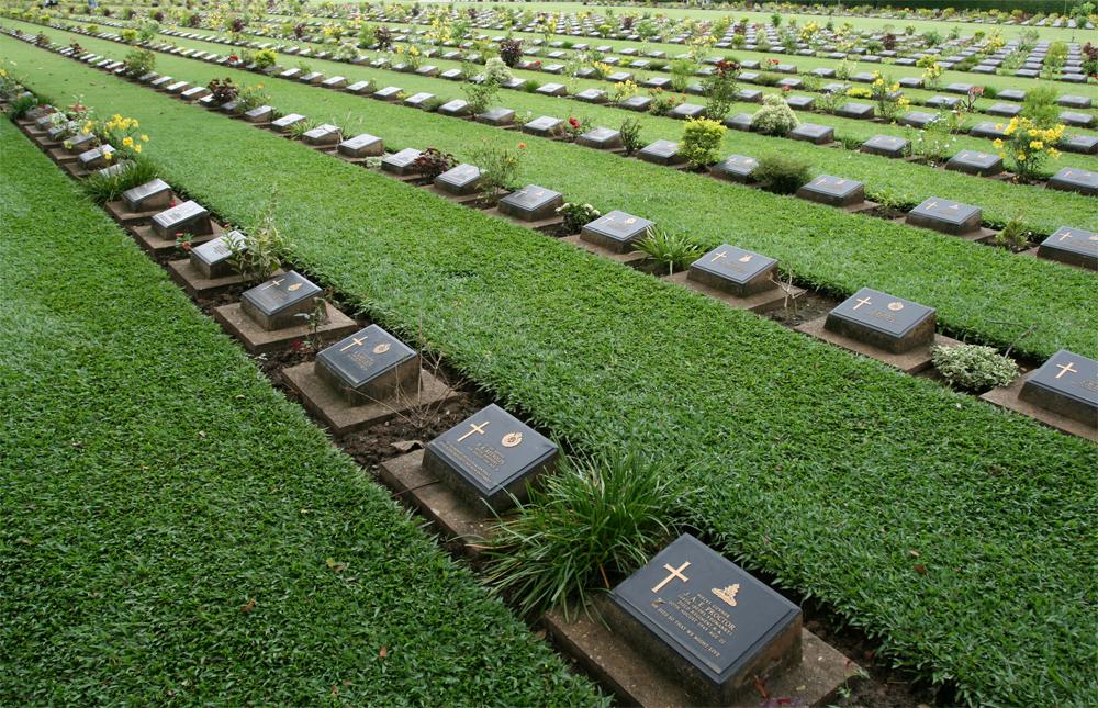 Cementerio-en-Kanchanaburi