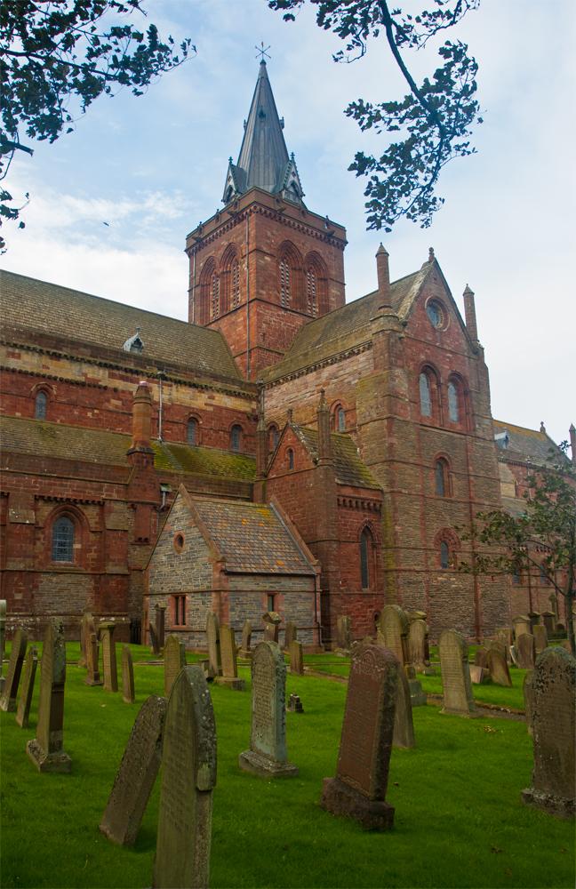 Cementerio-junto-a-la-Catedral-de-San-Magnus-de-Kirkwall