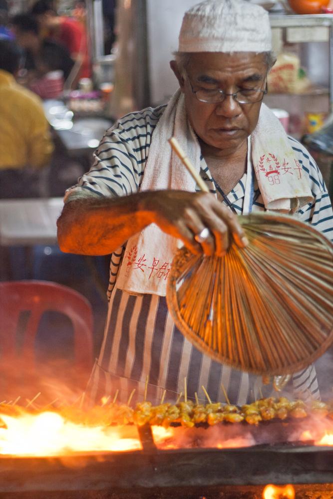 Cocinando-Satay