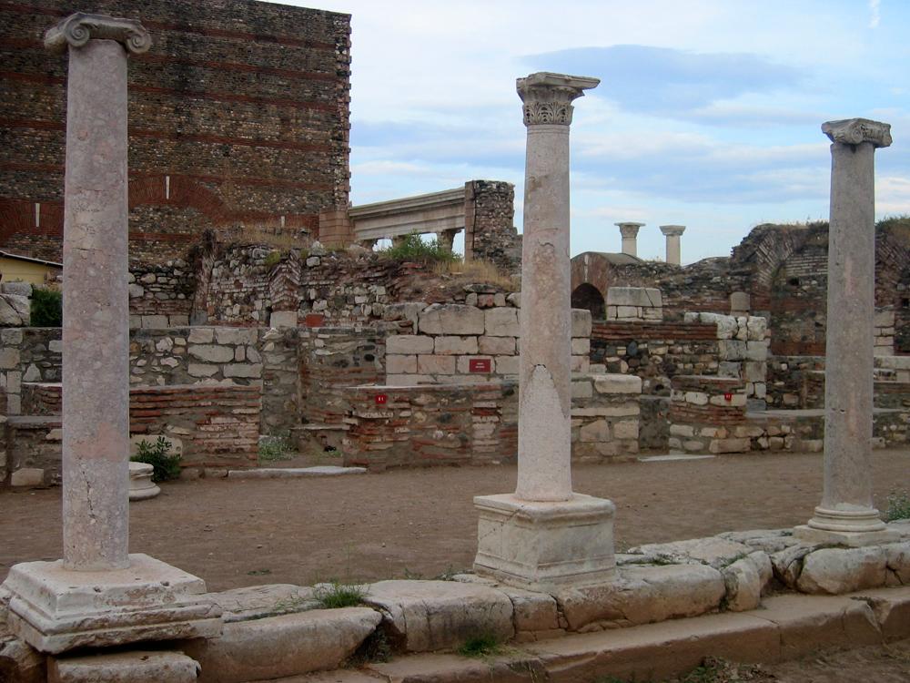 Columnas-en-Pérgamo