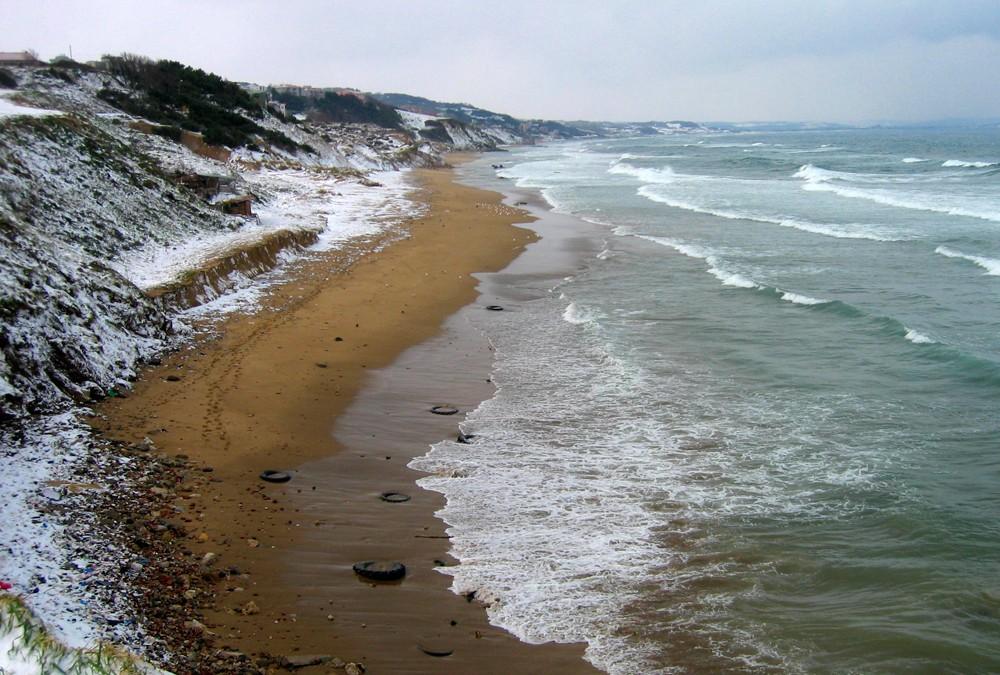 El mar negro de Samsun a Trabzon