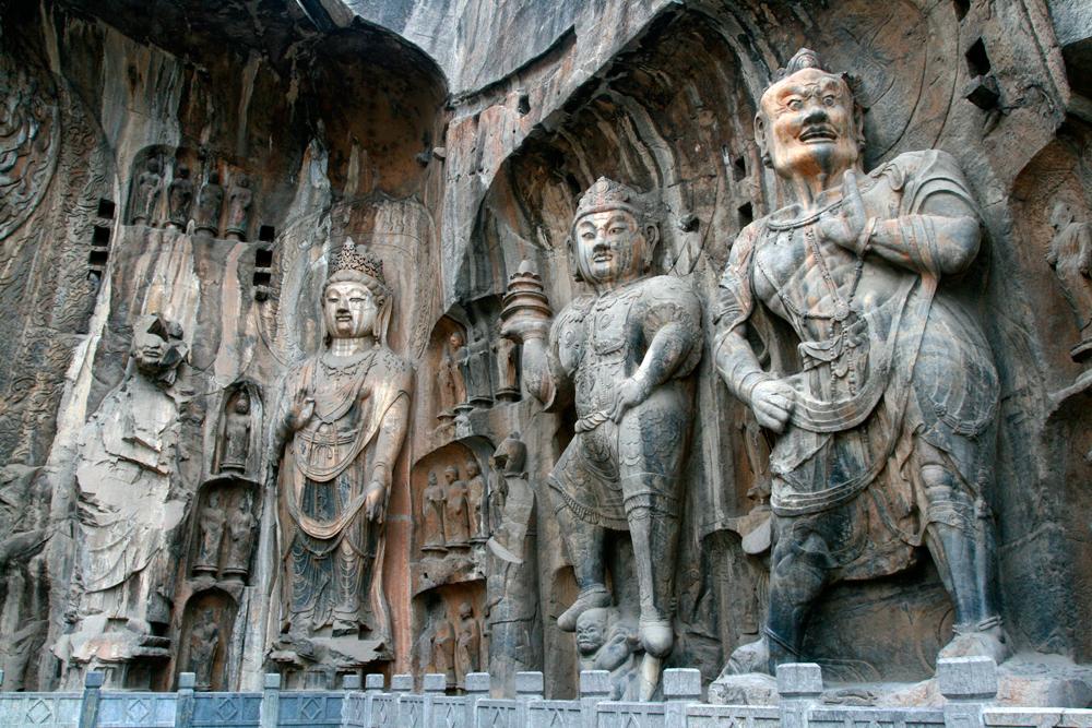 Las cuevas budistas de Longmen