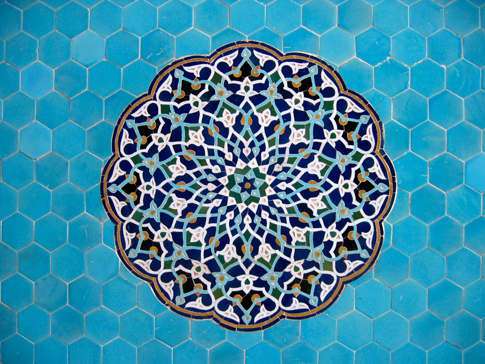 Decoración-de-una-mezquita