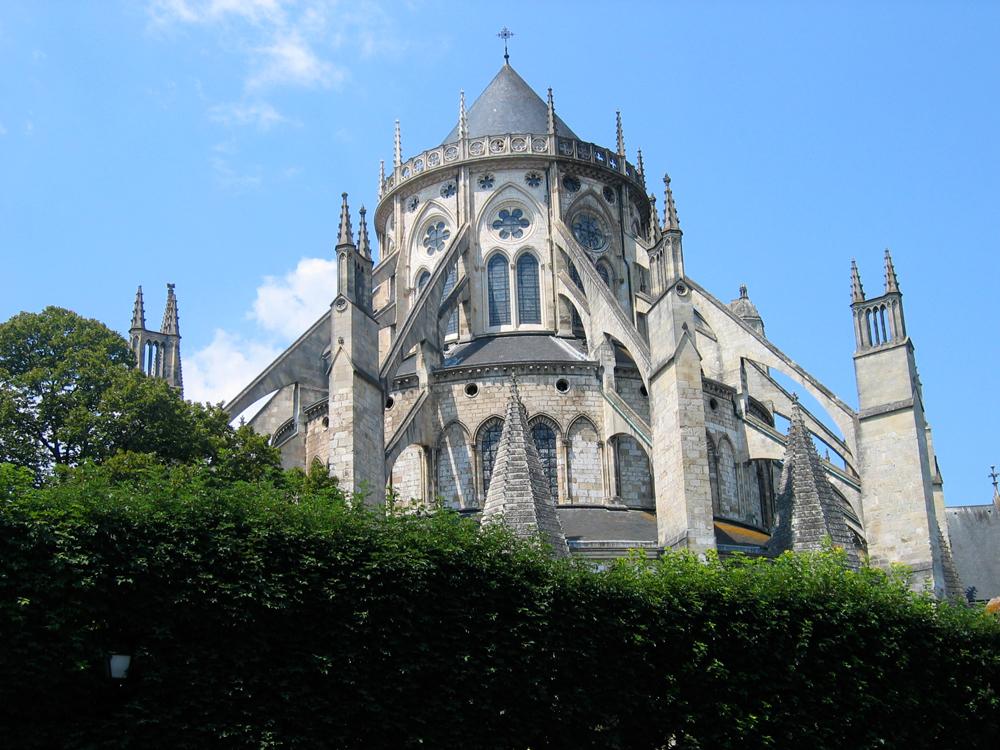 Detalle-de-catedral-de-Bourges