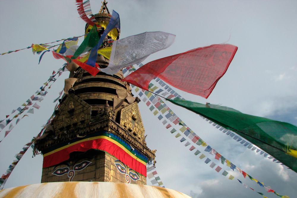 Grandes estupas de Katmandú
