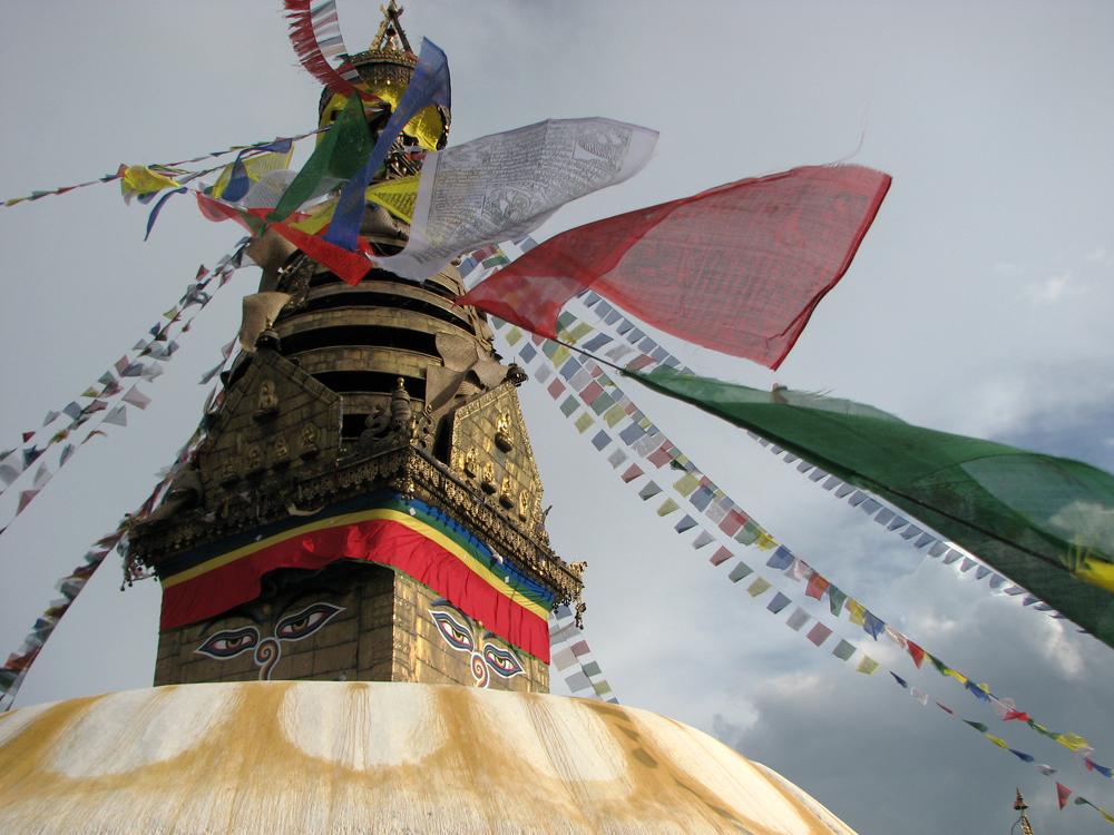 Detalle-de-estupa-principal-de-Swayambunath