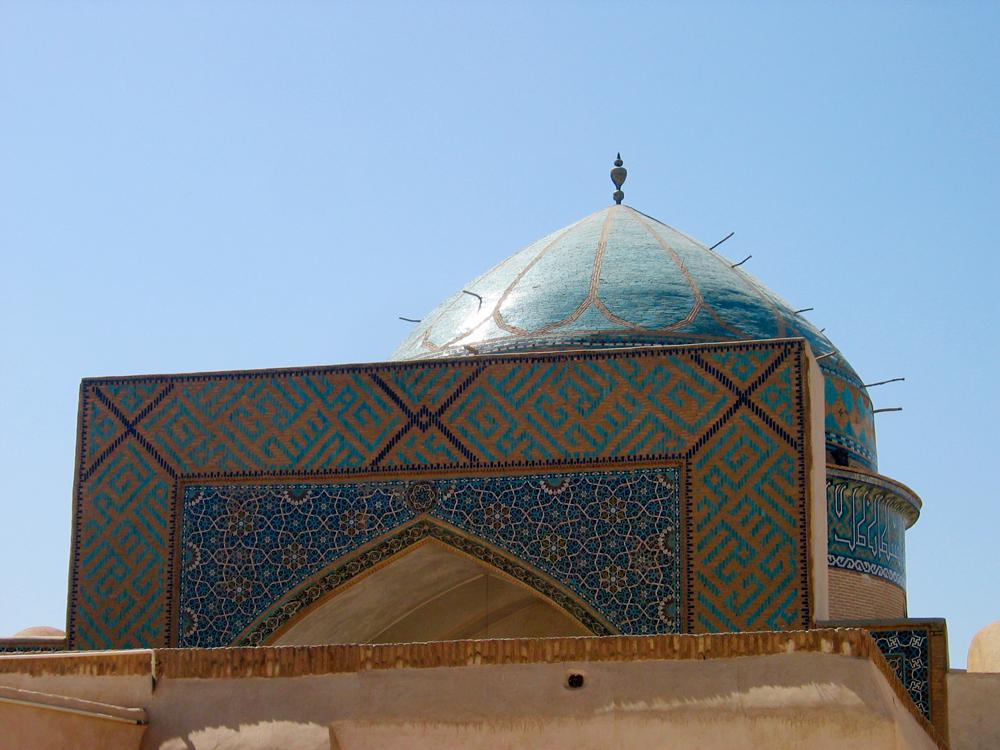 Detalle-de-mezquita-en-Yazd