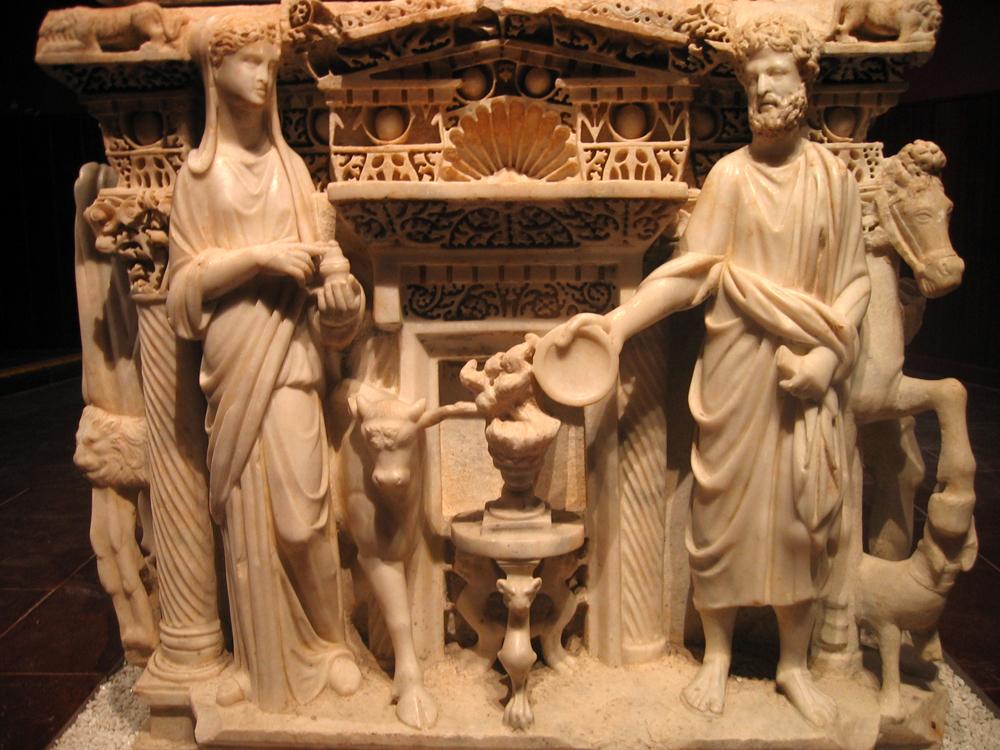 Detalle-de-sarcófago-II--en-el-Museo-arqueológico-de-Antioquía