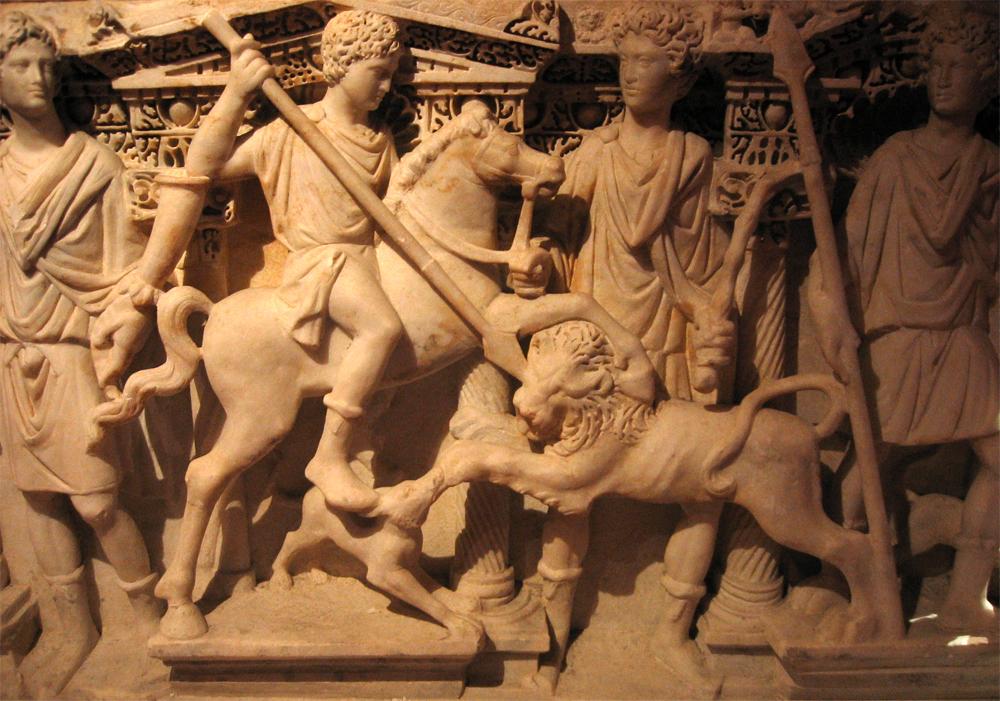 Detalle-de-sarcófago-III--en-el-Museo-arqueológico-de-Antioquía