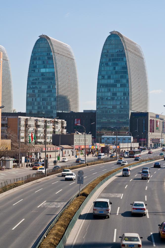 Edificios-modernos-de-Pekín-II