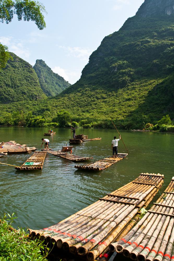 Embarcaciones-de-bambú