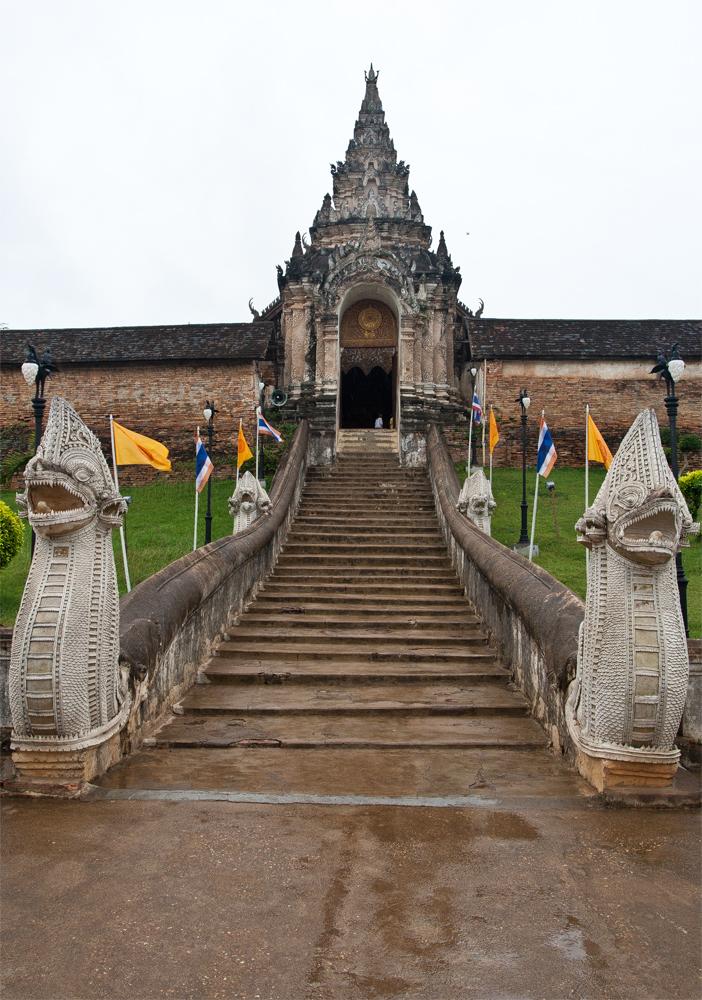 Entrada-a-Wat-Phra-That-Lampang-Luang