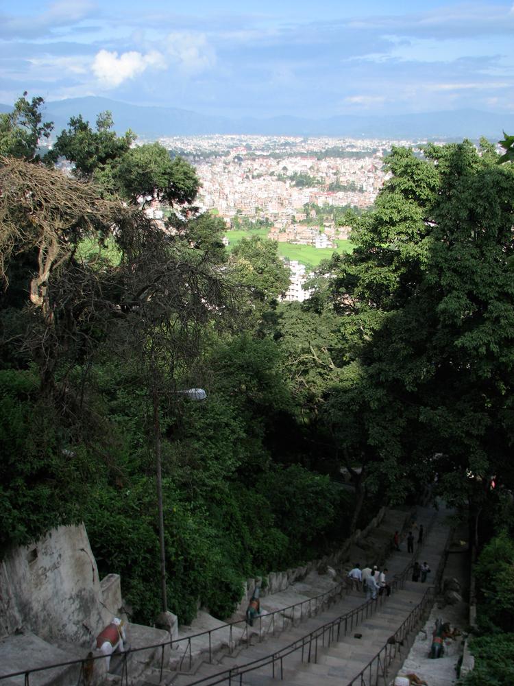 Escalersa-de-acceso-a-Swayambunath
