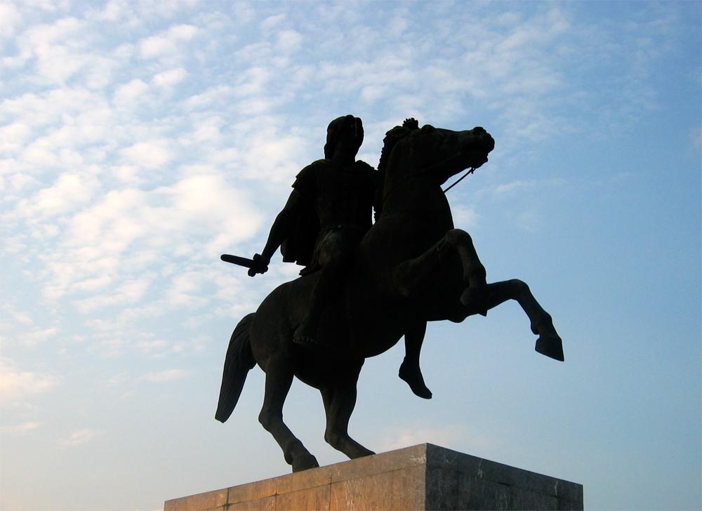 Estatua-de-Alejandro-Magno