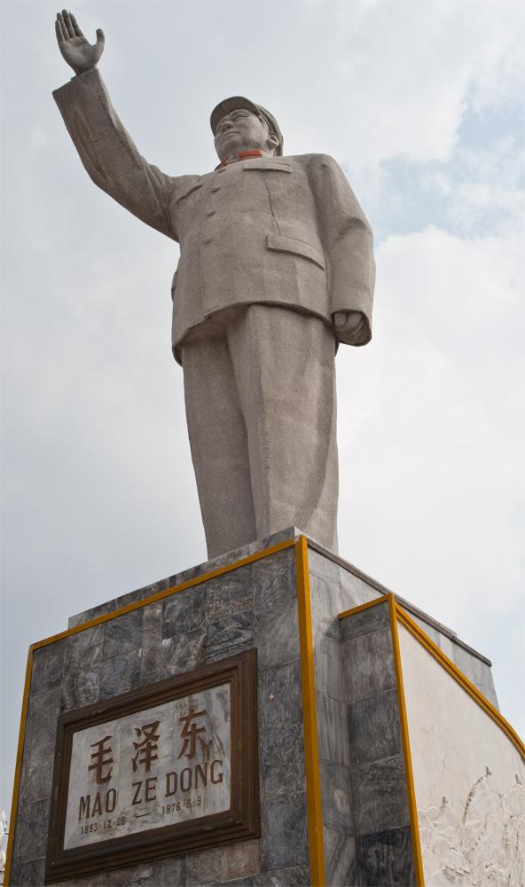 Estatua-de-Mao-en-Lijian