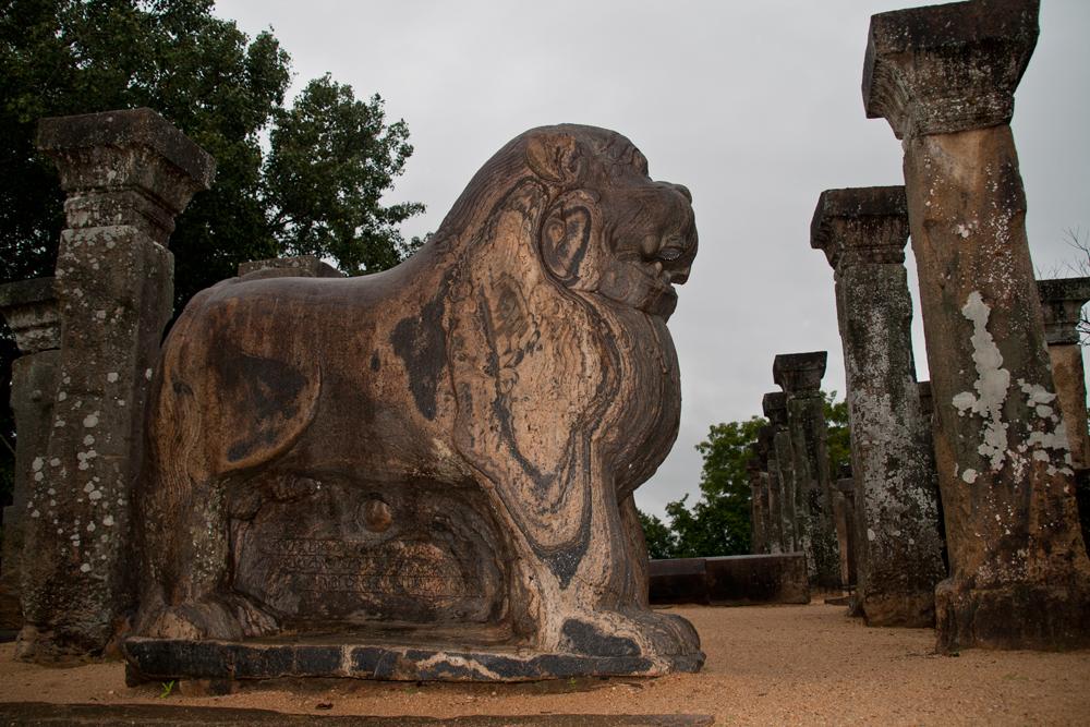 Estatua-de-un-leon