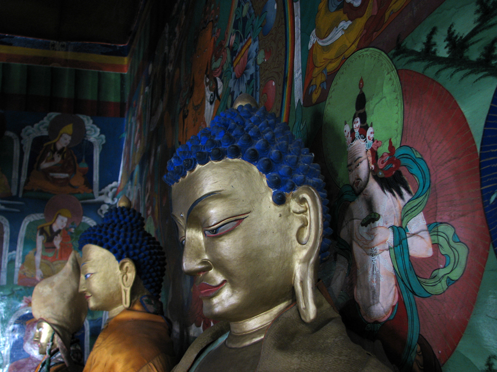 Estatuas-Budistas-en-Likir
