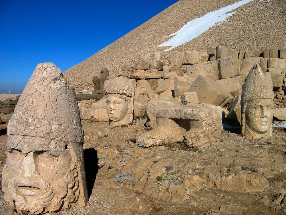 Estatuas-de-Nemrut-Dagi-II