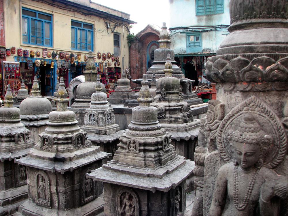 Estupas-menores-de-Swayambunath