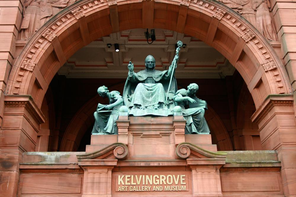 Fachada-del-museo-Kelvingrove-de-Glasgow